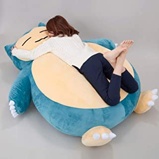 """59"""" Plush Anime Soft Stuffed Animal Doll Snorlax Plush Toys Pillow Bed ONLY Cover with Zipper for Kid GIF Doll Chil"""