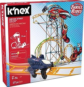 K NEX 18515 Mecha Strike Roller Coaster Building Set