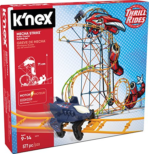 K 'NEX 18515 Mecha Strike Roller Coaster Building Set