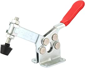 Abrazaderas de palanca para carpintería, 1 pieza de acero al carbono, accesorio vertical, abrazadera de palanca horizontal, herramienta manual, 201-b(201-B)