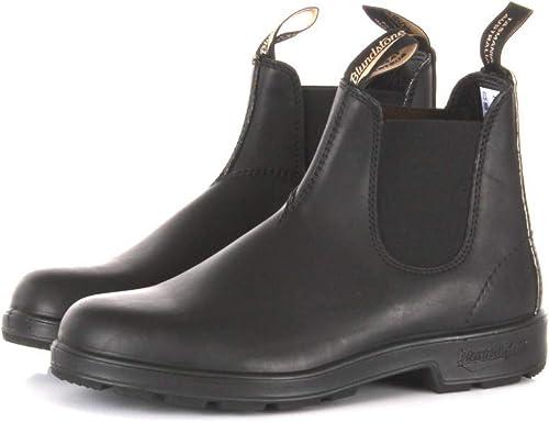 Blaundstone schuhe herren 510 schwarz Premium Leather Pelle AI17