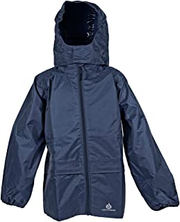 DRY KIDS - Packable Jacket 11-12 Yrs Navy Blue