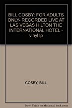 BILL COSBY: FOR ADULTS ONLY- RECORDED LIVE AT LAS VEGAS HILTON THE INTERNATIONAL HOTEL - vinyl lp