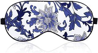 Asdfnfa (Two Pairs) Silk Eye Mask Sleep Shading Breathable Male and Female Three-Dimensional Flower Sleep Aid Eye Mask asdfnfa (Style : 2)
