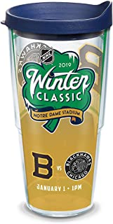 Tervis NHL 2019 Winter Classic Insulated Tumbler with Wrap and Navy Lid, 24oz, Clear