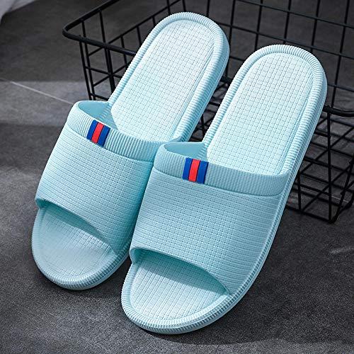 Zapatillas de sandalia para mujer y hombre Zapatillas de baño antideslizantes para sandalias de piscina Zapatillas de baño antideslizantes para sandalias de baño Zapatillas de baño,inglés azul cielo,38/39