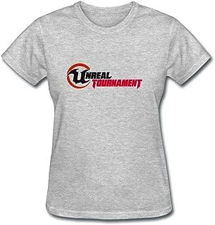 ZHENGXING Women's Unreal Tournament 3 Cool Game Logo Short Sleeve T-Shirt XXL ColorName