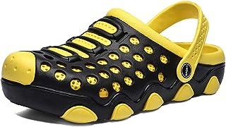FDSVCSXV Summer Garden Clogs Lightweight Quick-Dry Slipper Walking Sandals Beach Pool Non-Slip Shoes Unisex for Indoor Out...