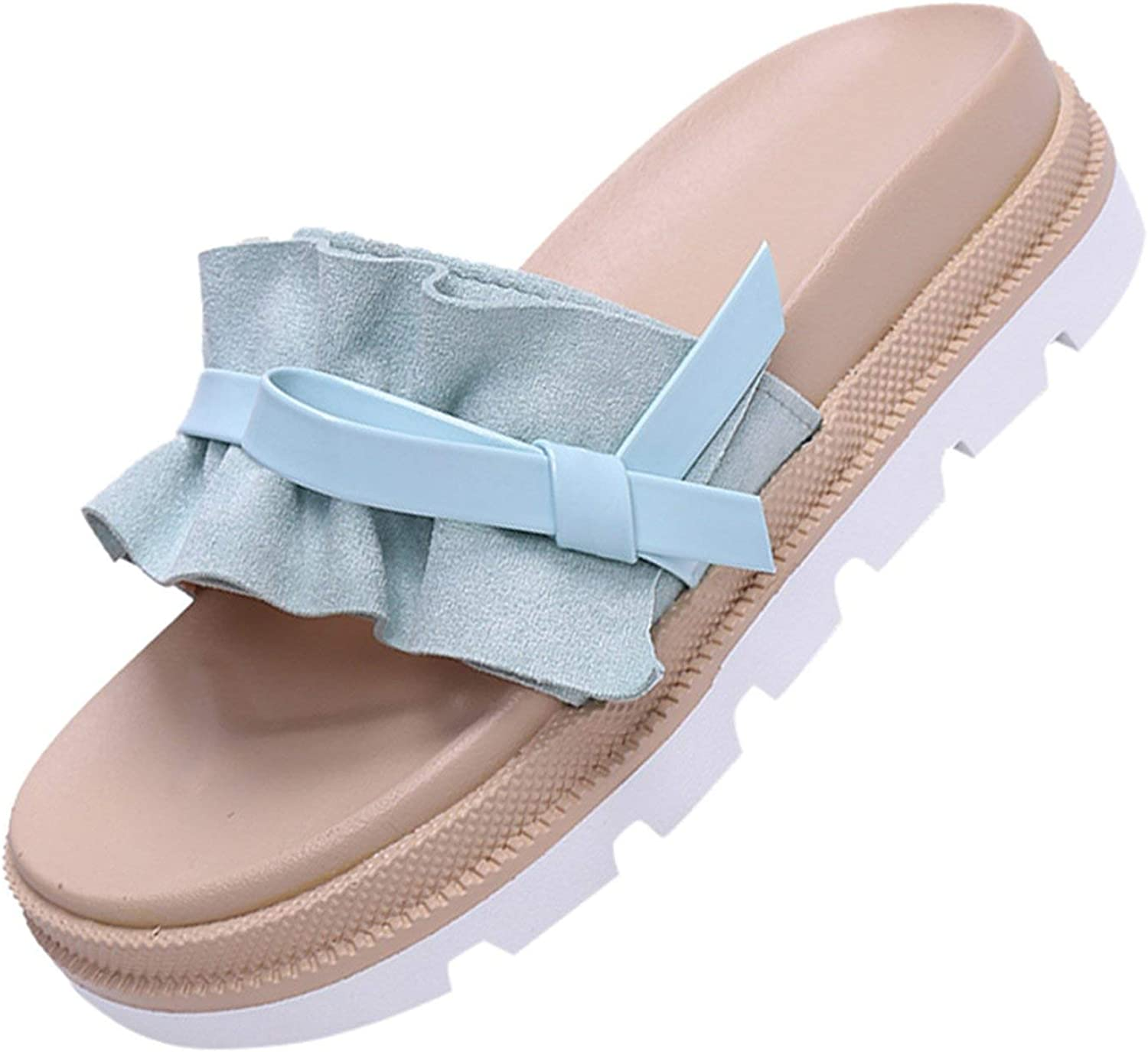 Mr Z Waroom Slippers Casual shoes Female Summer Beach Sponge Cake Thick Sandals and Slippers flip Flops Women Slippers