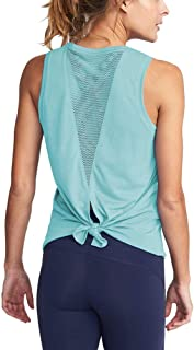 Womens Cute Mesh Workout Clothes Yoga Tops Exercise Gym Shirts Running Tank Tops