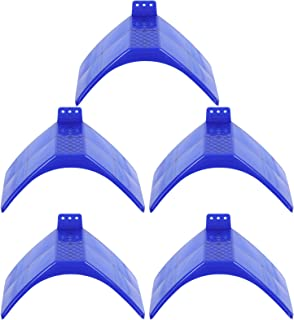 Generic Bird Perches Stand 5pcs Blue Lightweight Pigeon Roost Bird Dove Dwelling Stand Cage Accessories