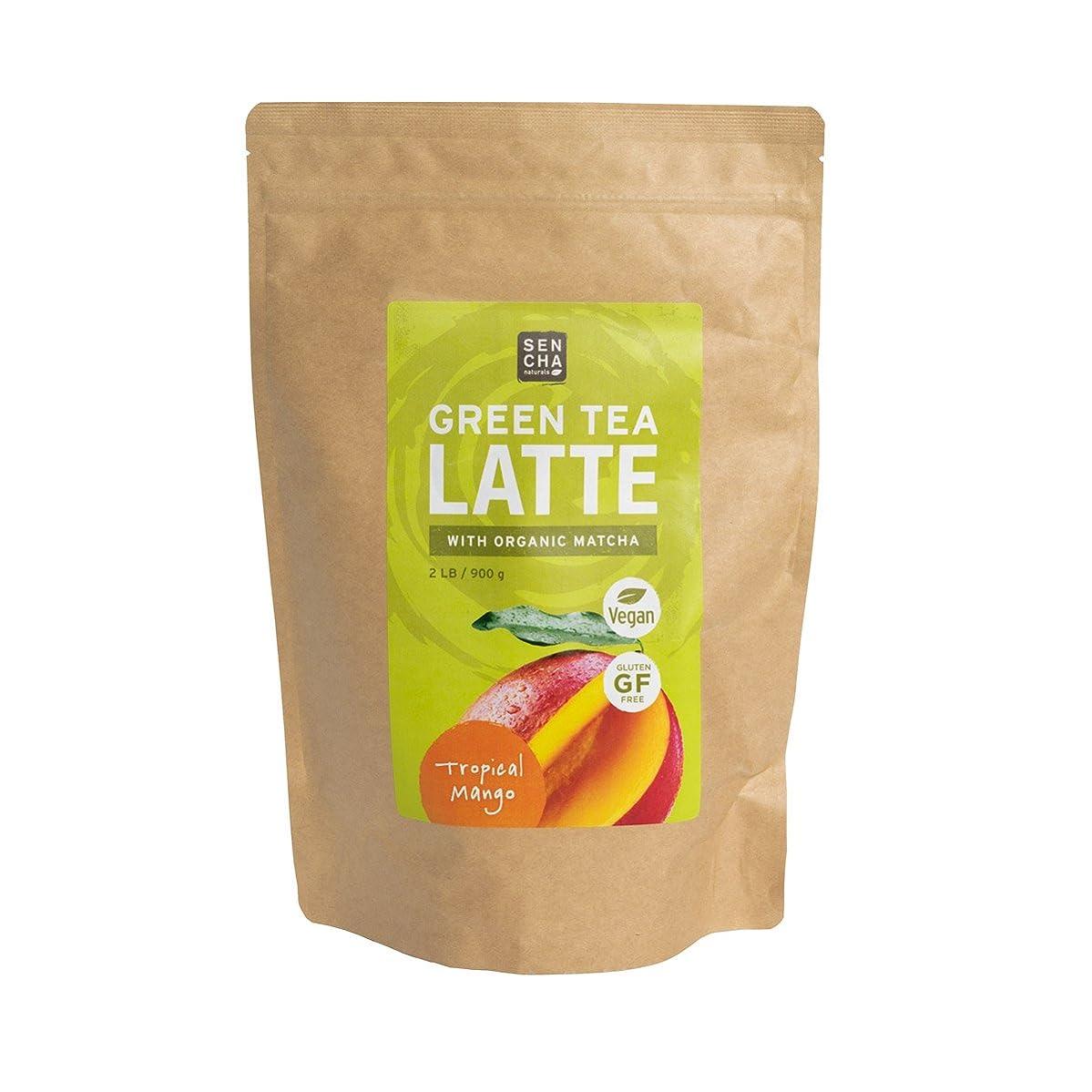 Sencha Naturals Matcha Latte, Tropical Mango, 32 Ounce