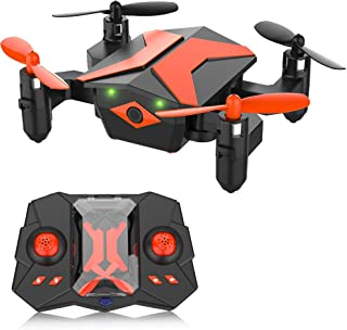 ATTOP Mini Drone - RC Helicopter, Drone for Kids & Beginners, RC Quadcopter with One Key Take Off, Headless Mode, Altitude Hold, 3D Flip, LED Light for Kids, 2.4Ghz 6-Axis Gyro, Great Kids Gifts