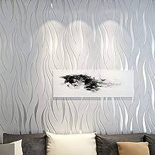 77 * 70CM 5ps, Gris VASEN Papier Peint 3D Brique Amovible D/écoradif Stickers Muraux Effet Pierre Autocollant Imperm/éable Auto-Adh/ésif pour Chambre Maison Cuisine