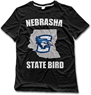 YFF Men's Creighton Bluejays State Bird New Style T Shirt Black