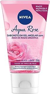 Sabonete Gel Facial Micellair Água de Rosas, Nivea, 150ml