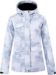 Women's High-Tech Waterproof Windproof Ski Jacket Snowboard Coat Mountain Rain Jacket