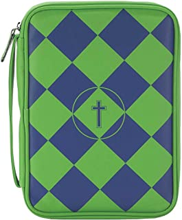green bible cover