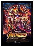Avengers Infinity War Movie Poster 24'x36' Framed Poster (C2-1180)