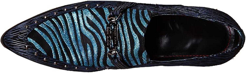 Mans Loafers Mockasinens skor Tillfällig Stripe Stripe Stripe Slip -on Flat Dress Evening Party  populär