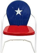 Leigh Country Texas Metal Retro Chair