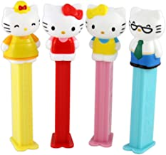 Pez Hello Kitty 40th Anniversary Set - 4 Dispensers & 6 Rolls US Made