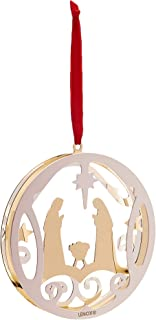 Lenox 870955 Stamped Nativity Ornament