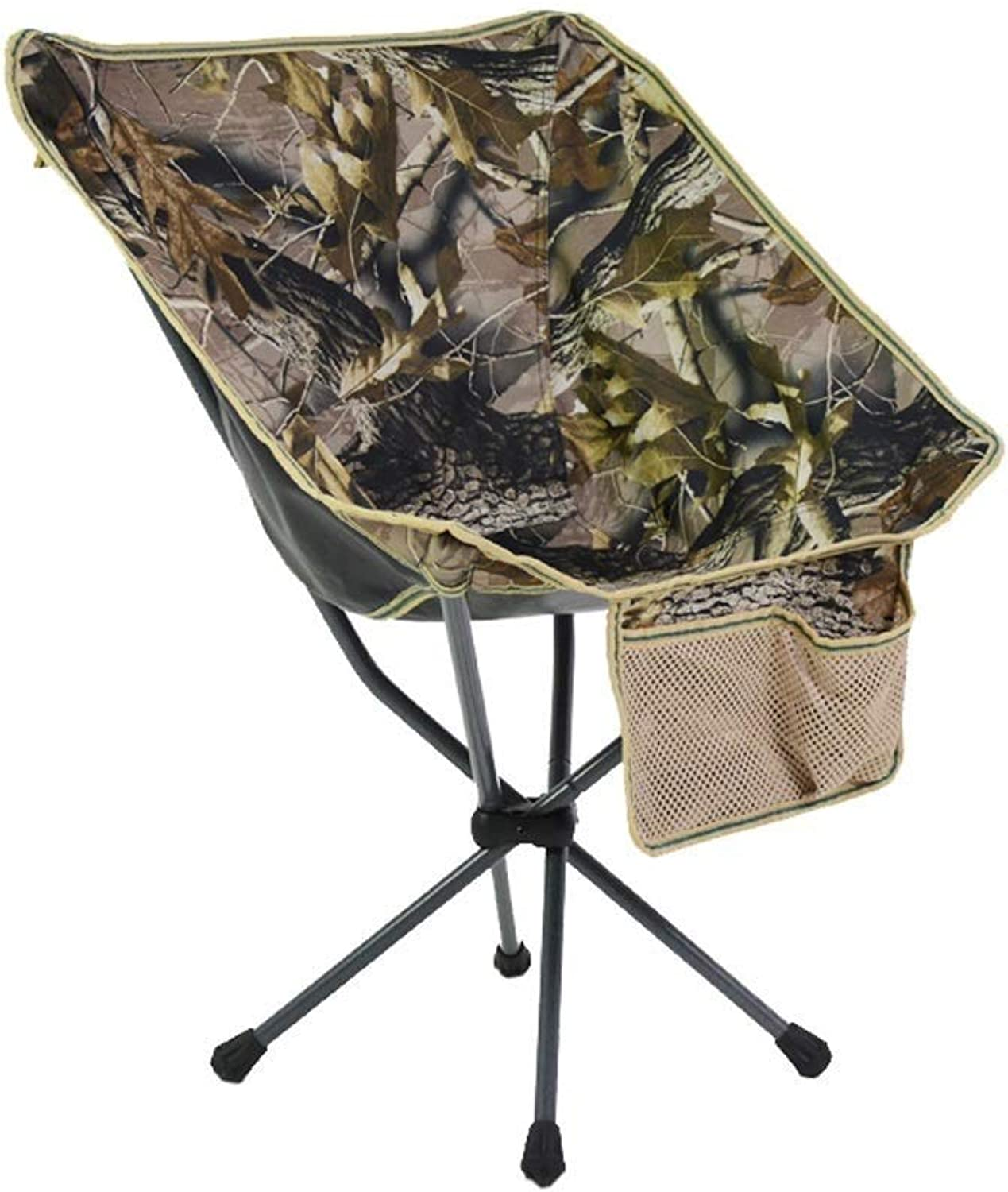 Anas Camping Chair, Oversized Heavy Duty Folding Chair, Padded Deluxe Chair with Cup Holder, and Durable