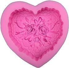 Ijsblokje Liefde vorm zeep schimmel siliconen zeep schimmel kaars schimmel ambachten chocolade cake gieten handgemaakte ge...