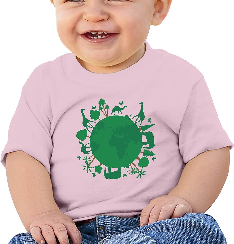 SOJAXA World Wildlife Day2 Girl Boybaby Cotton T-Shirt Tees