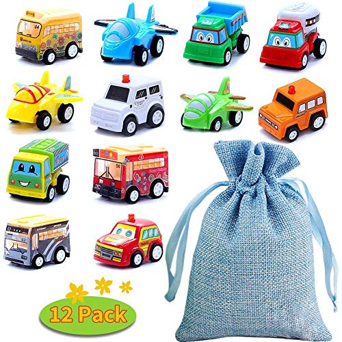 BBLIKE Coches de Juguetes, 12 PCS Mini Coches Cars Una Bolsa