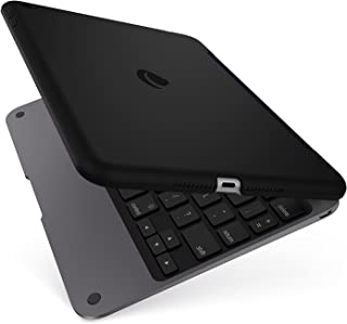 ClamCase Pro for iPad Mini 4, Incipio ClamCase Pro Bluetooth Keyboard [100 Hour Playtime] for iPad Mini 4 - Black/Smoke