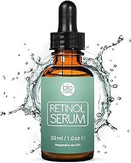 Bioniva Retinol Serum – Sistema de administración de liposoma con retinol Vitamin C & ácido hialurónico botánico