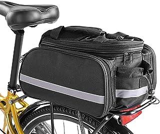 Brinny Fahrrad Gepäcktaschen Rücksitz Tasche wasserdichte Fahrradträger-Gepäckträger Tasche Tragbare Rahmentaschen Fahrrad...