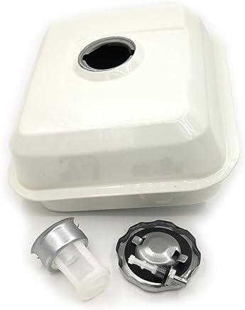 Shioshen Tapa del Tanque de Gas Tanque de Combustible Conjunto Filtro para Honda GX340 GX390 188F 11HP 13HP Gasolina de 4 Tiempos Motor Motor generador Bomba de Agua