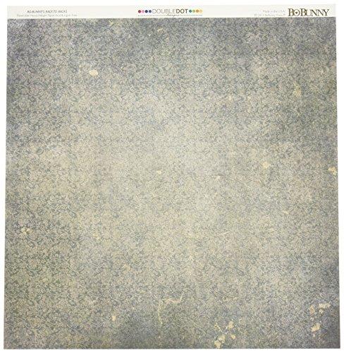 Bo Bunny Doppelpunkt-Papier, 30,5 x 30,5 cm, Vintage-Schatten, Rot