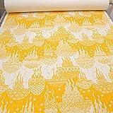 kawenSTOFFE Canvas orientalischer Druck gelb robuster