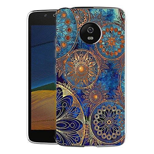 FoneExpert® Motorola Moto G5 Plus Tasche, Ultra dünn TPU Gel Hülle Silikon Hülle Cover Hüllen Schutzhülle Für Motorola Moto G5 Plus