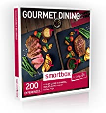 Buyagift Gourmet Dining Experience Gift Box - 200 delicious dining options from Michelin meals to tasting menus