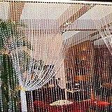 SKEMIX 99FT Garland Diamond Strand Acrylic Crystal Bead Curtain Wedding DIY Party Decor