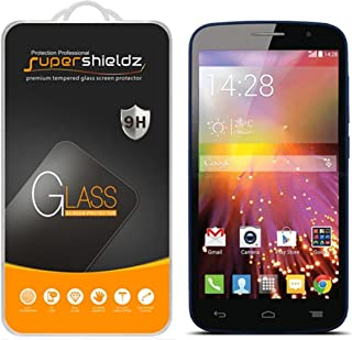 (2 Pack) Supershieldz for Alcatel Onetouch Pop Icon (A564C) Tempered Glass Screen Protector, Anti Scratch, Bubble Free