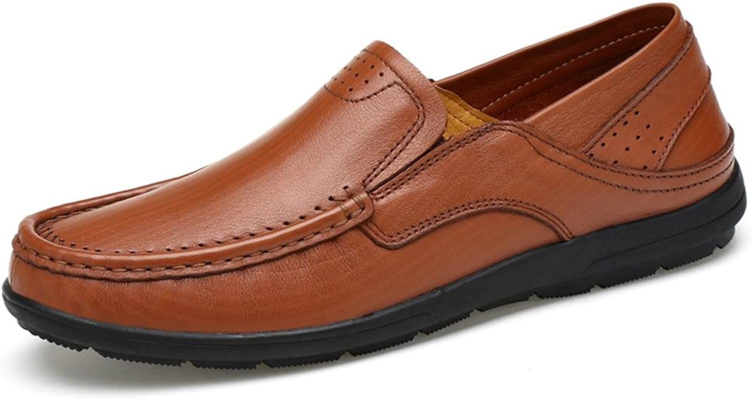 LLP LM Men's Leather shoes Casual shoes Workplace shoes Dress shoes Driving shoes
