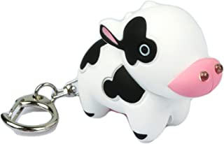 Cow Key Chain and LED Flashlight