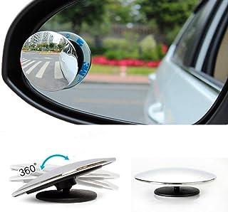 Dor/é Baoblaze 2x R/étroviseurs Lat/éraux de Moto Scooter Mirroir Ext/érieur Ajustable Rotatif /à 360/°