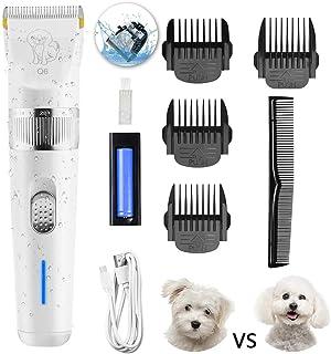 Sammiu - Juego de maquinilla de afeitar para perros de 2