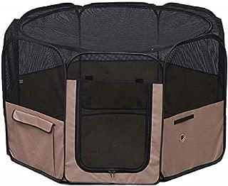 アイリスオーヤマ 折りたたみサークル Lサイズ POTS-1260A ブラウン L サイズ