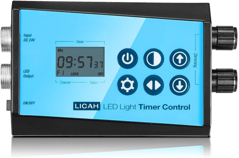 LICAH Aquarium LED Light Timer Control Box