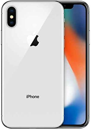 Apple iPhone X 256 GB Plata (Renewed)