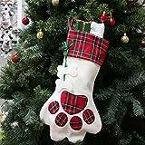 ASR Cat Paw Unicorn Xmas Big Stockings hogar restaurante hotel club,Bar Navidad Calcetín decorativo...