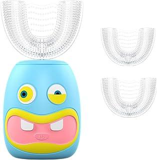 futureyun Schallzahnbürste für Kinder, automatische Ultraschallzahnbürste, elektrische U-förmige Kinderzahnbürste, Ultrasc...